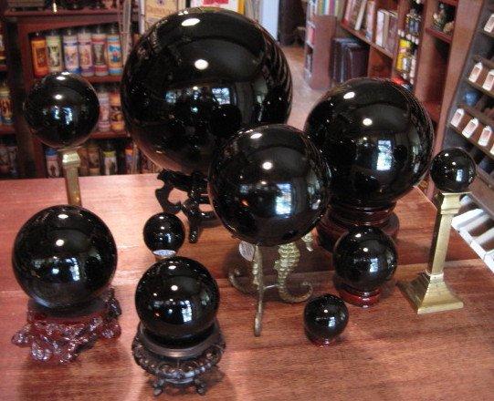 Obsidian-Crystal-Balls-at-the-Lucky-Mojo-Curio-Company