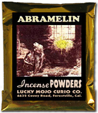 Lucky Mojo Curio Co.: Abramelin Incense Powders