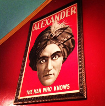 Alexander-the-Man-Who-Knows-Poster-at-the-Lucky-Mojo-Curio-Company
