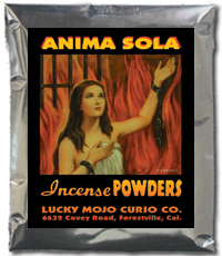 Lucky Mojo Curio Co.: Anima Sola (Lonely Soul) Incense Powders