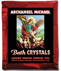 Lucky Mojo Curio Co.: Saint Michael Archangel Bath Crystals