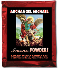 Lucky Mojo Curio Co.: Saint Michael Archangel Incense Powders