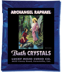 Lucky Mojo Curio Co.: Archangel Raphael Bath Crystals