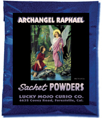Archangel-Raphael-Sachet-Powders-at-Lucky-Mojo-Curio-Company