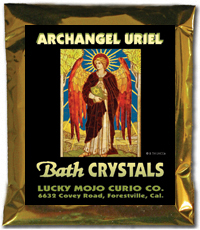 Lucky Mojo Curio Co.: Archangel Uriel Bath Crystals