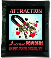 Lucky Mojo Curio Co.: Attraction Incense Powders