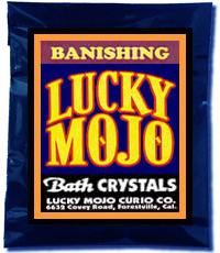 Lucky Mojo Curio Co.: Banishing Bath Crystals