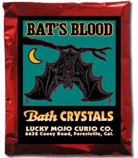 Lucky Mojo Curio Co.: Bat's Blood Bath Crystals