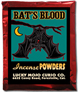 Lucky Mojo Curio Co.: Bat's Blood Incense Powder