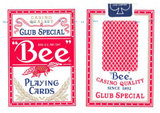 U-S-Playing-Cards-Bee-Poker-Diamond-Back-Red-at-Lucky-Mojo-Curio-Company