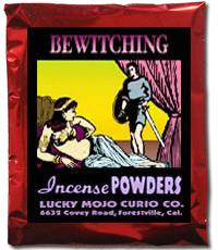 Lucky Mojo Curio Co.: Bewitching Incense Powders