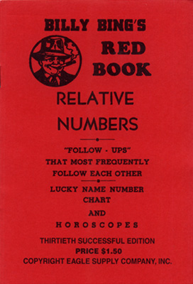 billy-bings-red-book-lottey-numbers-cover