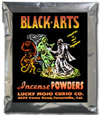 Lucky Mojo Curio Co.: Black Arts Incense Powders