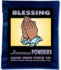 Lucky Mojo Curio Co.: Blessing Incense Powders