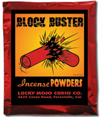 Lucky Mojo Curio Co.: Block Buster Incense Powders