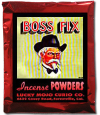 Lucky Mojo Curio Co.: Boss Fix Incense Powders