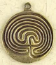Brass-Plated-Labyrinth-Amulet-at-Lucky-Mojo-Curio-Company
