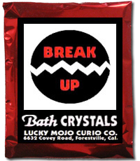 Lucky Mojo Curio Co.: Break Up Bath Crystals