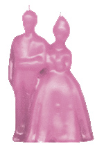 Bride-and-Groom-Figural-Candle-Pink-at-the-Lucky-Mojo-Curio-Company-in-Forestville-California