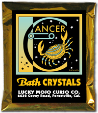 Lucky Mojo Curio Co.: Cancer Bath Crystals