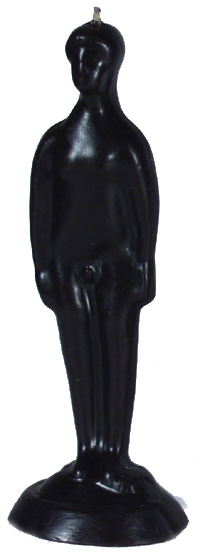Male-Nude-Figural-Adam-Candle-Black-at-the-Lucky-Mojo-Curio-Company-in-Forestville-California