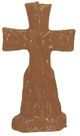 Crucifix-Cross-and-Keys-Candle-Brown-Product-Detail-Button-at-the-Lucky-Mojo-Curio-Company-in-Forestville-California