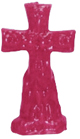 Crucifix-Cross-and-Keys-Candle-Pink-Product-Detail-Button-at-the-Lucky-Mojo-Curio-Company-in-Forestville-California