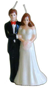 Bride-and-Groom-Figural-Candle-Painted-at-the-Lucky-Mojo-Curio-Company-in-Forestville-California