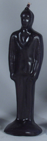 black-clothed-man-candle