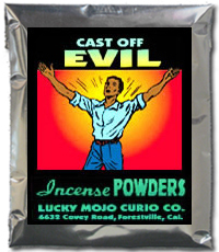 Lucky Mojo Curio Co.: Cast Off Evil Incense Powders