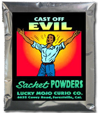 Lucky Mojo Curio Co.: Cast Off Evil Sachet Powder