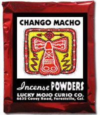 Lucky Mojo Curio Co.: Chango Macho Incense Powder