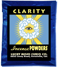 Lucky Mojo Curio Co.: Clarity Incense Powders