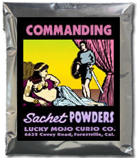 Lucky Mojo Curio Co.: Commanding Sachet Powder