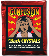 Lucky Mojo Curio Co.: Confusion Bath Crystals