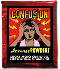 Lucky Mojo Curio Co.: Confusion Incense Powder