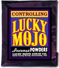 Lucky Mojo Curio Co.: Controlling Incense Powder