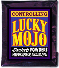Lucky Mojo Curio Co.: Controlling Sachet Powder