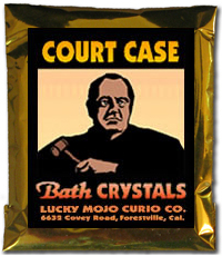 Lucky Mojo Curio Co.: Court Case Bath Crystals