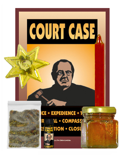 Lucky-Mojo-Curio-Co.-Court Case-Magic-Ritual-Hoodoo-Rootwork-Conjure-Spell-Kit