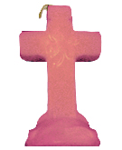 Cross-4-Leaf-Clover-Candle-Pink-Hoodoo-Conjure-Dressing-Candles-at-the-Lucky-Mojo-Curio-Company-in-Forestville-California