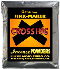 Lucky Mojo Curio Co.: Crossing Incense Powder