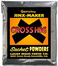 Lucky Mojo Curio Co.: Crossing Sachet Powder
