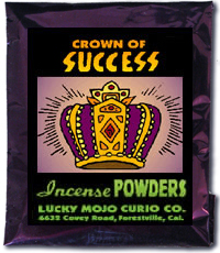 Lucky Mojo Curio Co.: Crown Of Success Incense Powder