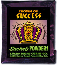 Lucky Mojo Curio Co.: Crown Of Success Sachet Powder