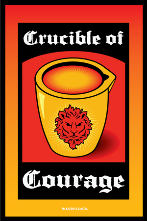 Lucky Mojo Curio Co.: Crucible-of-Courage Vigil Candle