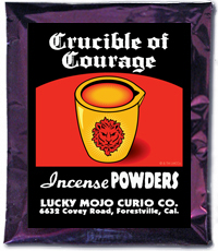 Lucky Mojo Curio Co.: Crucible Of Courage Incense Powder