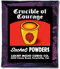 Lucky Mojo Curio Co.: Crucible Of Courage Sachet Powder