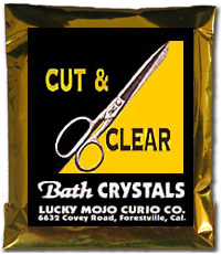 Lucky Mojo Curio Co.: Cut And Clear Bath Crystals
