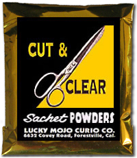 Lucky Mojo Curio Co.: Cut And Clear Sachet Powder